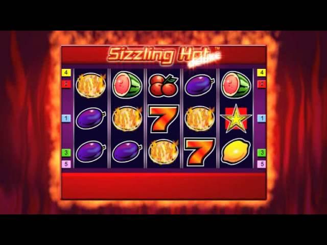 หาเงินด้วยเกม Sizzling hot slot