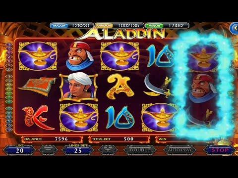 หาเงินง่ายๆกับเกมสล็อต Aladdin