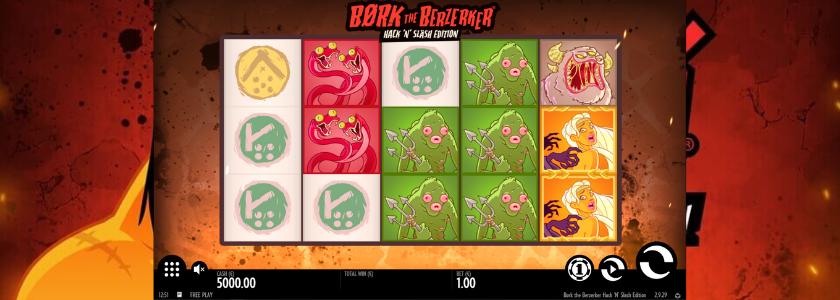 Bork The Berzerker Hack n Slash - play