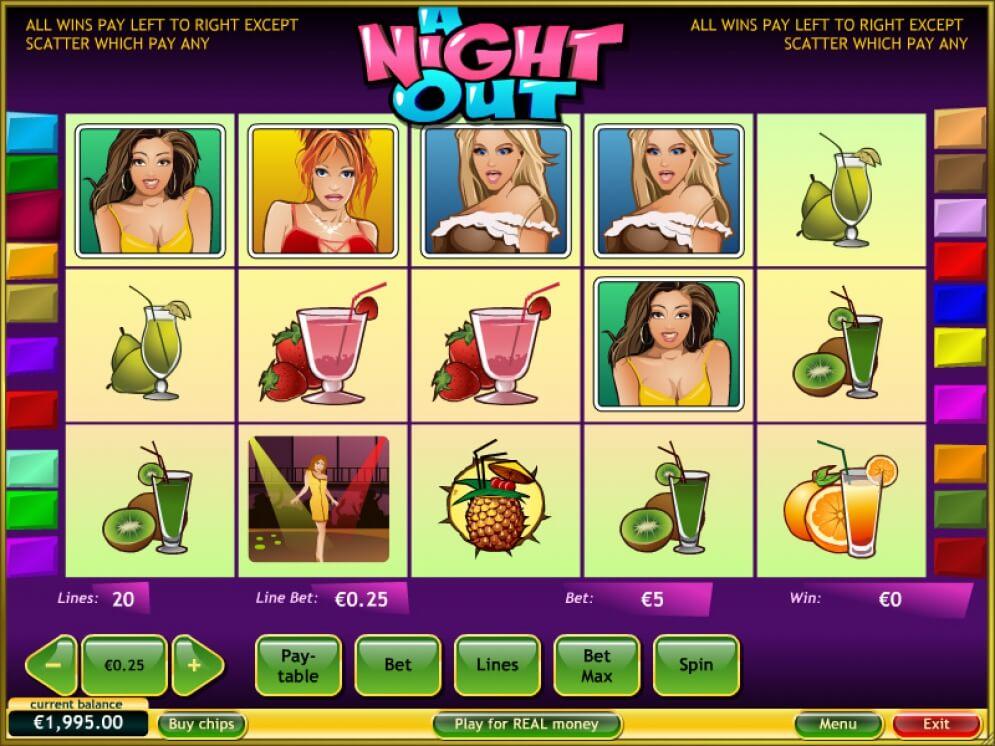 หาเงินด้วยเกมสล็อต A NIGHT OUT