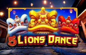 รวยไปกับสิงโตผู้พิทักษ์ 5 Lions Dance