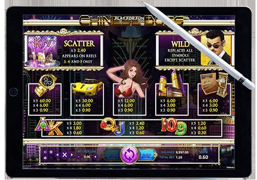 เกม slot ออนไลน์ทำเงิน Chinese Boss